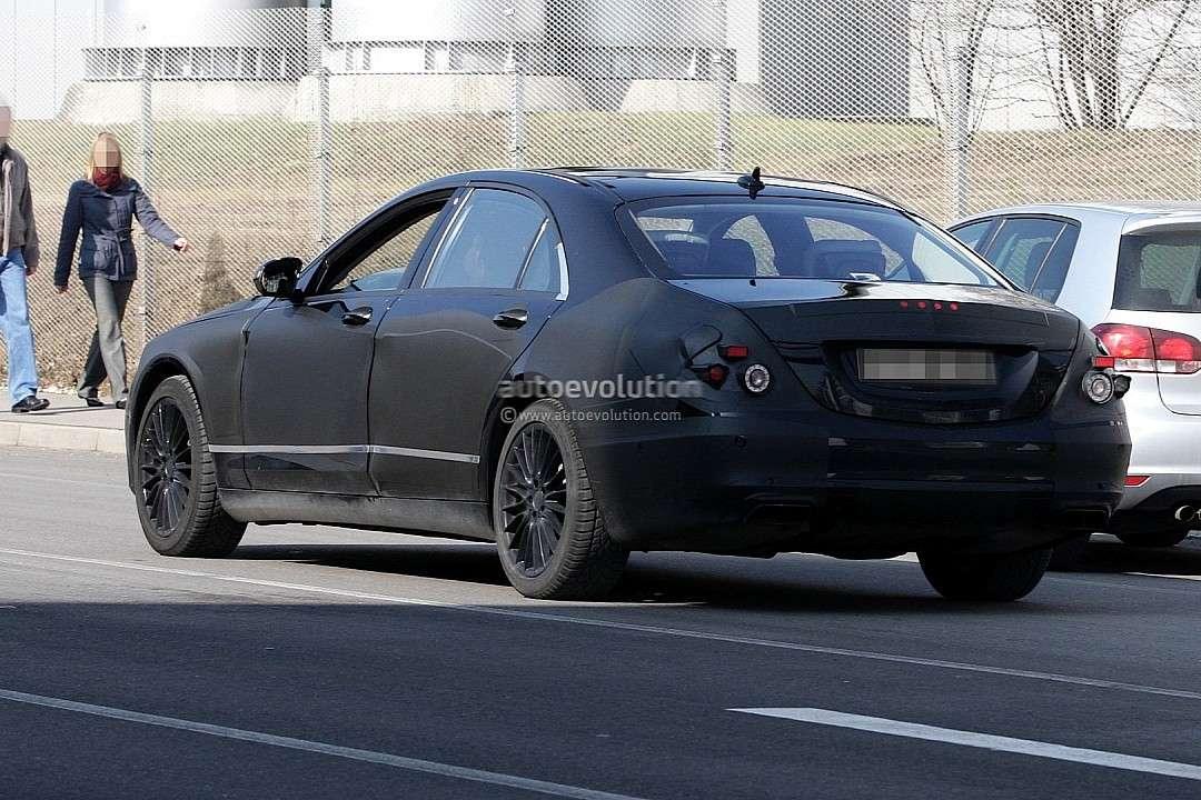 Mercedes klasy S 2013 zdjęcia szpiegowskie