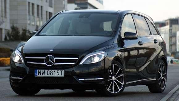 Nowy Mercedes-Benz B200 CDI