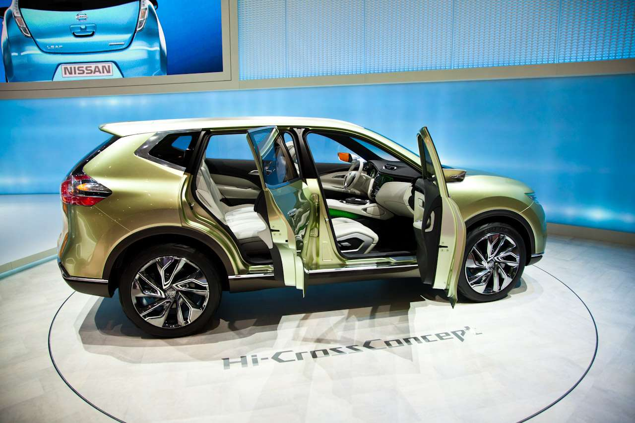 Nissan Hi-Cross Concept Genewa 2012