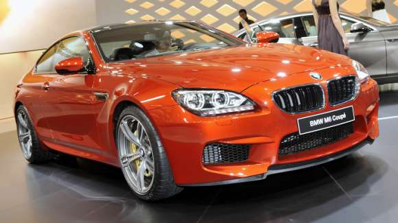 BMW M6 coupe Genewa 2012