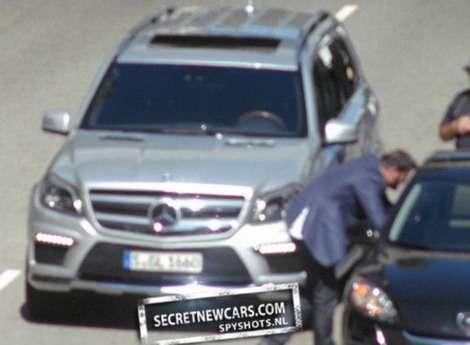 Nowy Mercedes GL szpiegowskie