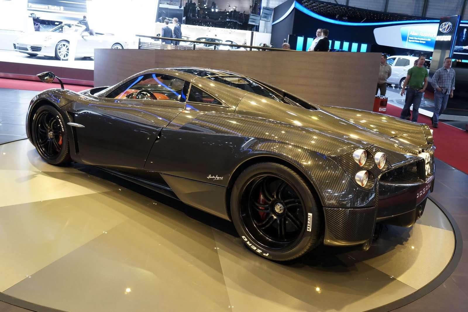 Pagani Huayra Carbon Edition Genewa 2012
