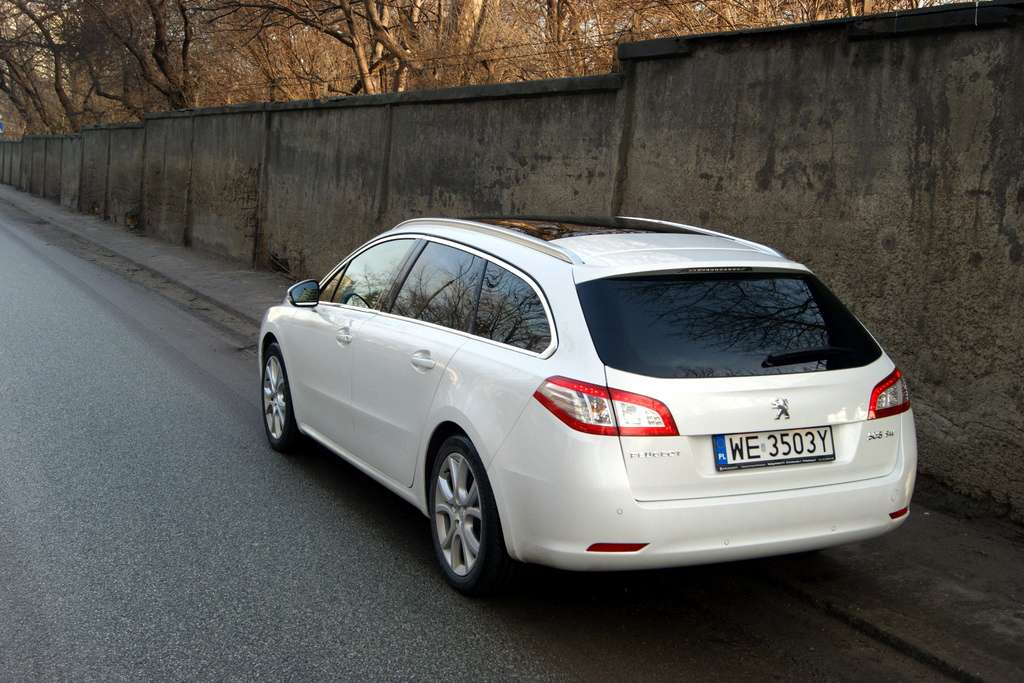 apetyt ro nie w miar jedzenia test peugeot 508 sw 2 0 hdi 163km allure. Black Bedroom Furniture Sets. Home Design Ideas