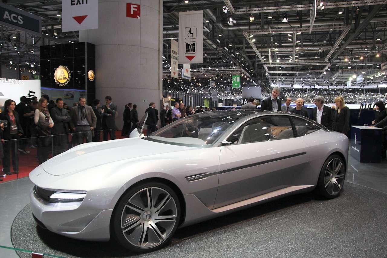 Pininfarina Cambiano Concept Genewa 2012