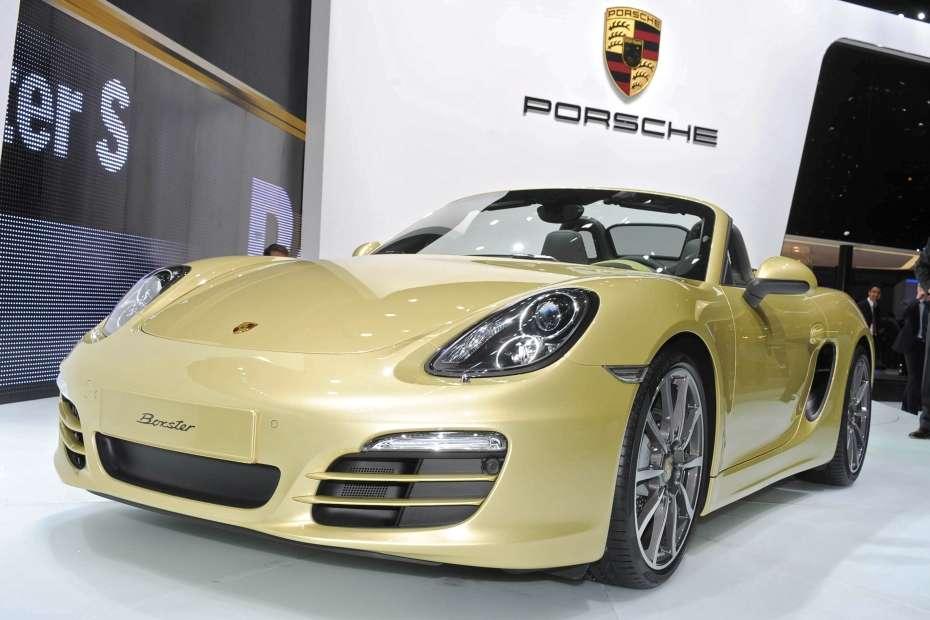 Porsche Boxter 2013 Genewa 2012