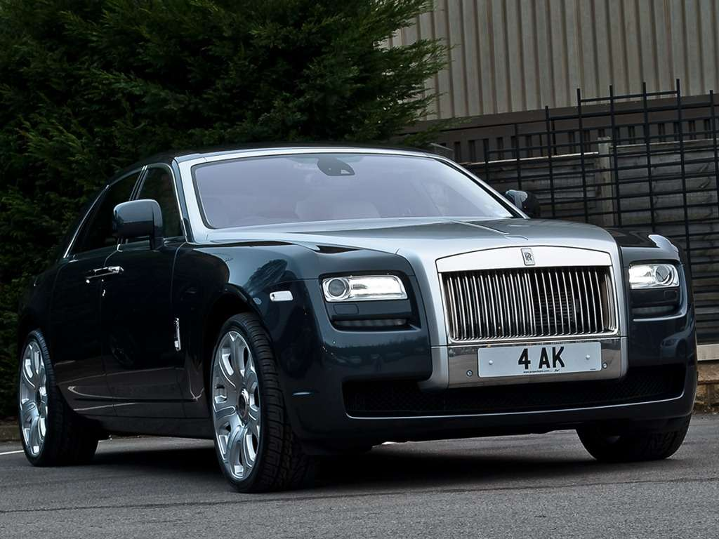 Rolls-Royce Ghost Khan Design