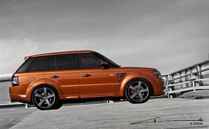 Project Kahn Vesuvius Range Rover Sport