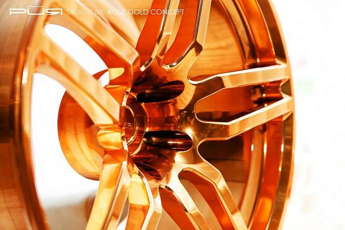 PUR Wheels Rose Gold Concept