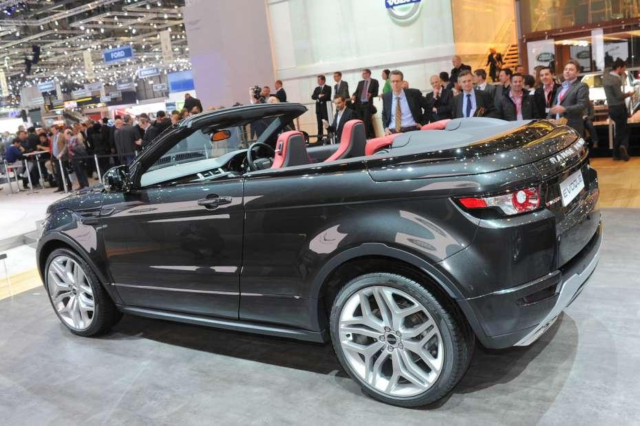 Range Rover Evoque Cabrio Concept Genewa