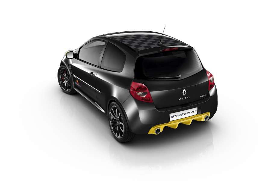 renault clio rs red bull racing rb7 special edition. Black Bedroom Furniture Sets. Home Design Ideas