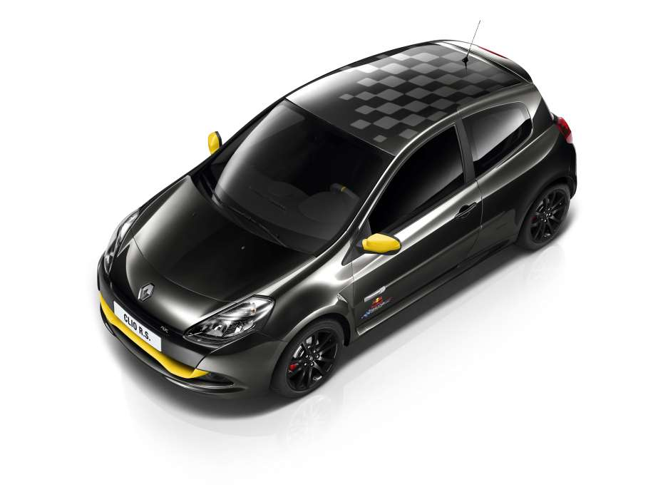 Renault Clio RS Red Bull Racing RB7 special edition