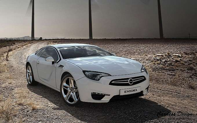 Opel Enigma rendering