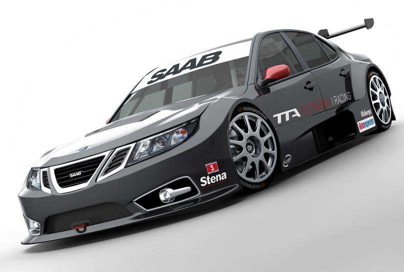Saab 9-3 TTA w akcji