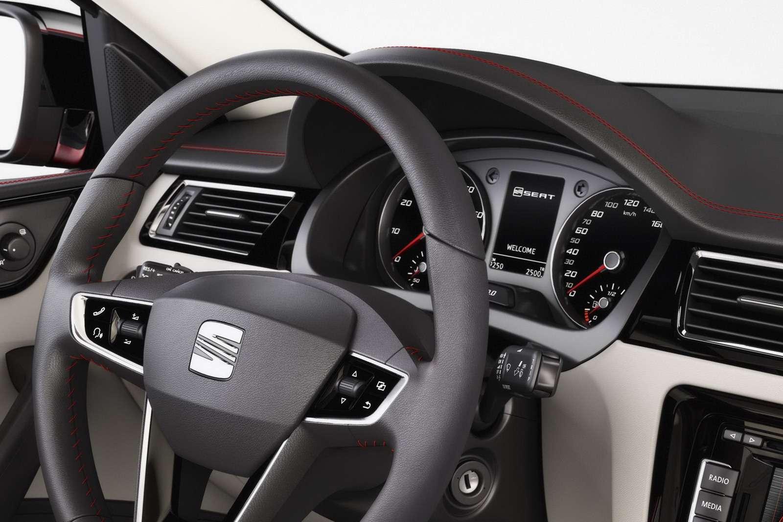 Seat Toledo Concept oficjalnie
