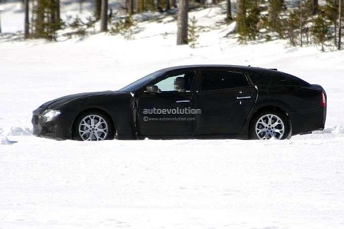 Maserati Quattroporte 2014 zdjęcia szpiegowskie