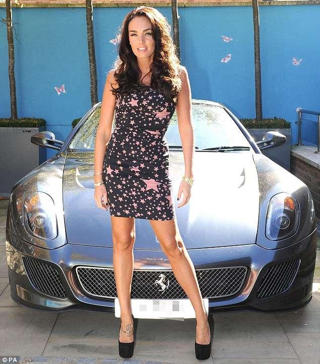Tamara Ecclestone Ferrari 599 GTO