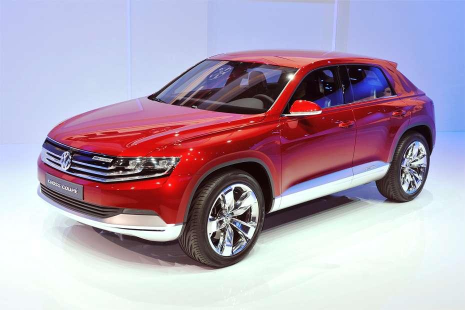 Volkswagen Cross Coupe Concept Genewa 2012