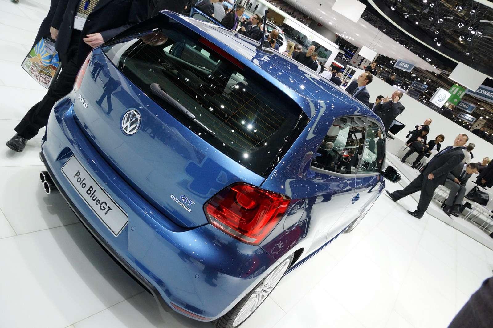 Volkswagen Polo Blue GT Genewa 2012