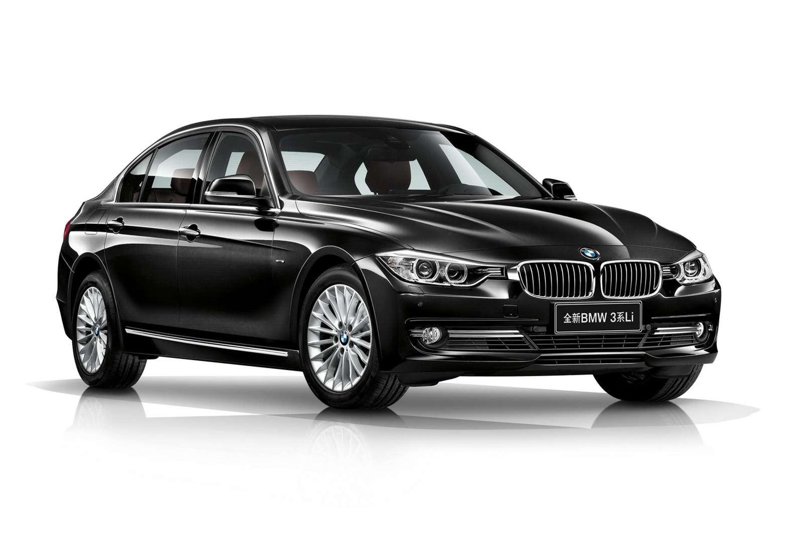 Nowe BMW serii 3 LWB wydłużone