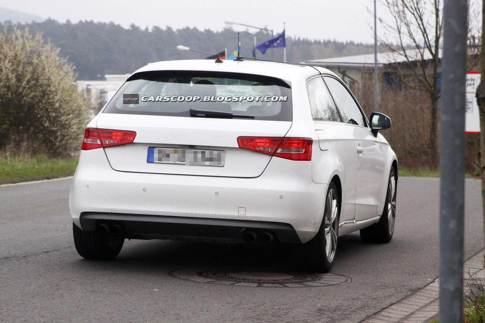 Audi S3 2013 zdjęcia szpiegowskie