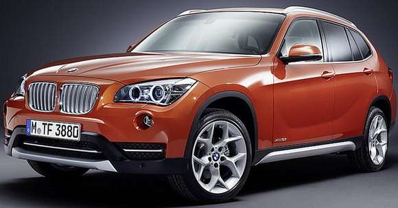 BMW X1 2013 facelifting