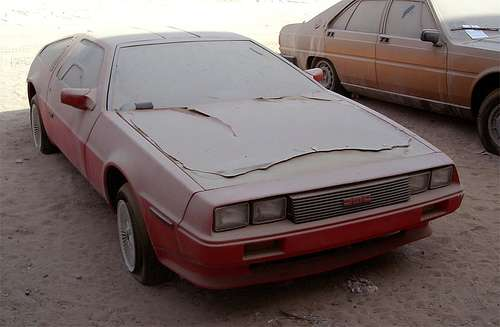 DMC Delorean Dubaj