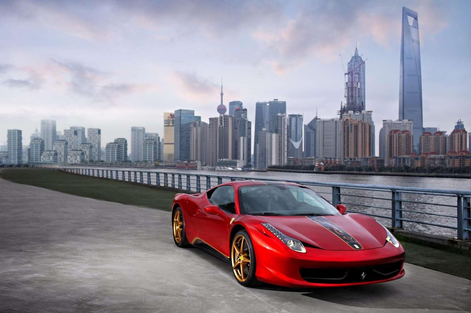 Ferrari 458 Italia specjalna edycja dla Chin