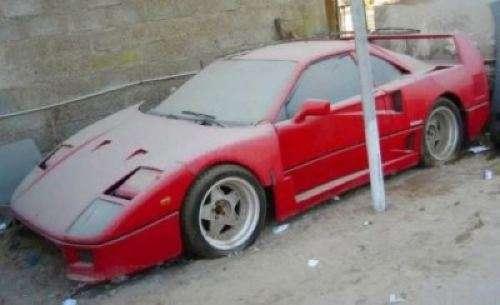 Ferrari F40 Dubaj