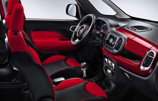 Fiat 500L zdjęcia wnętrza