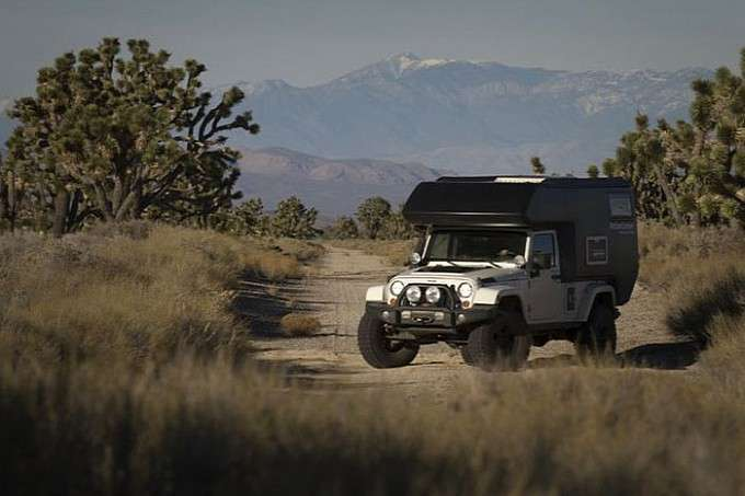 Jeep Wrangler Action Camper RV
