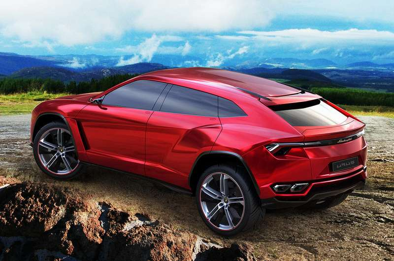 Lamborghini Urus SUV zdjęcia