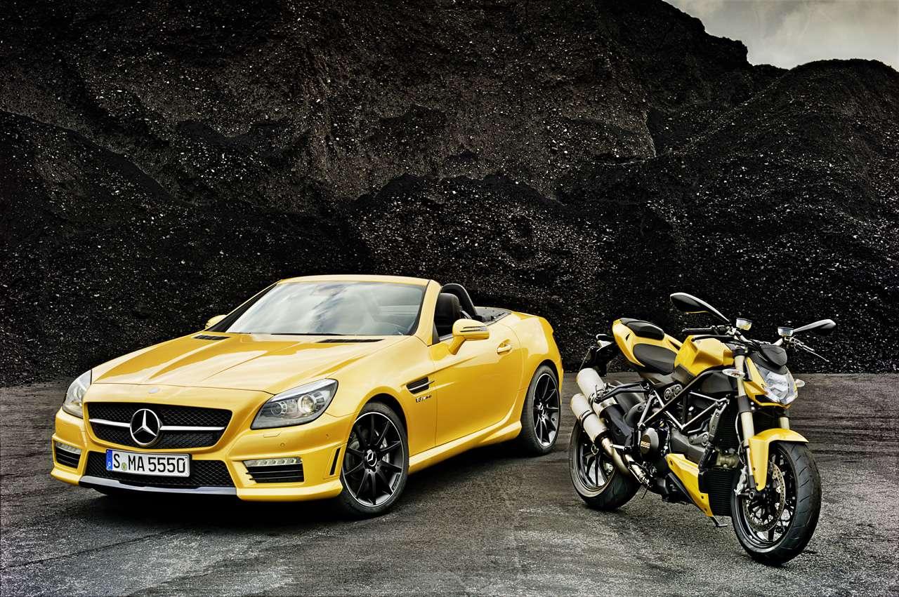 SLK und Ducati