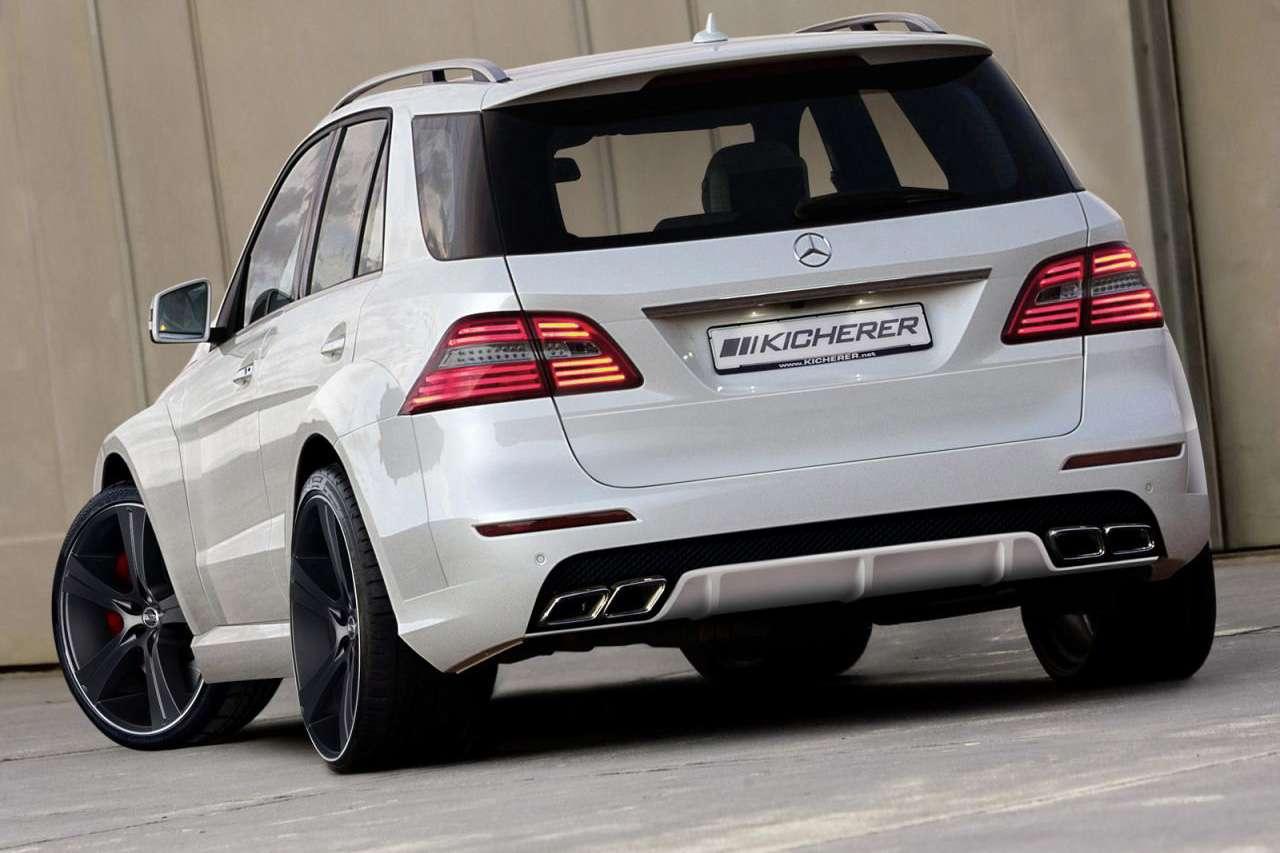Mercedes klasy M Kicherer tuning