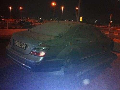 Mercedes klasy S Dubaj