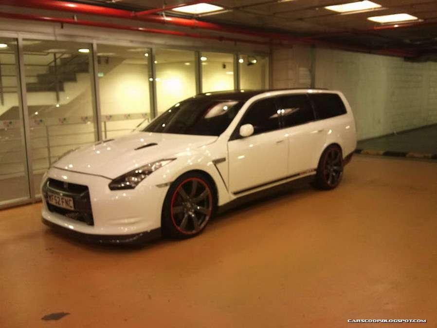 Nissan GT-R kombi w Portugalii