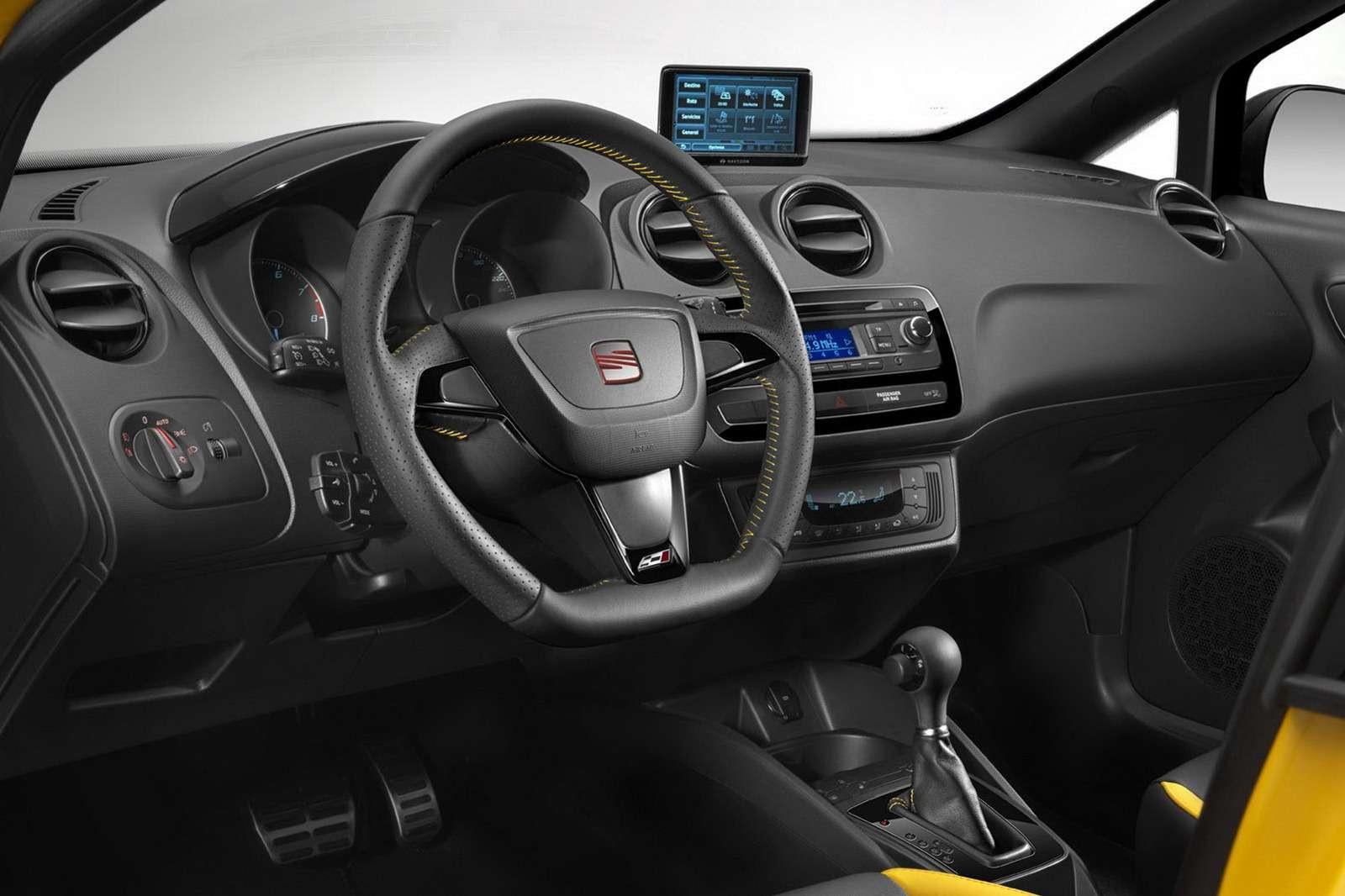 Seat Ibiza Cupra facelift 2012