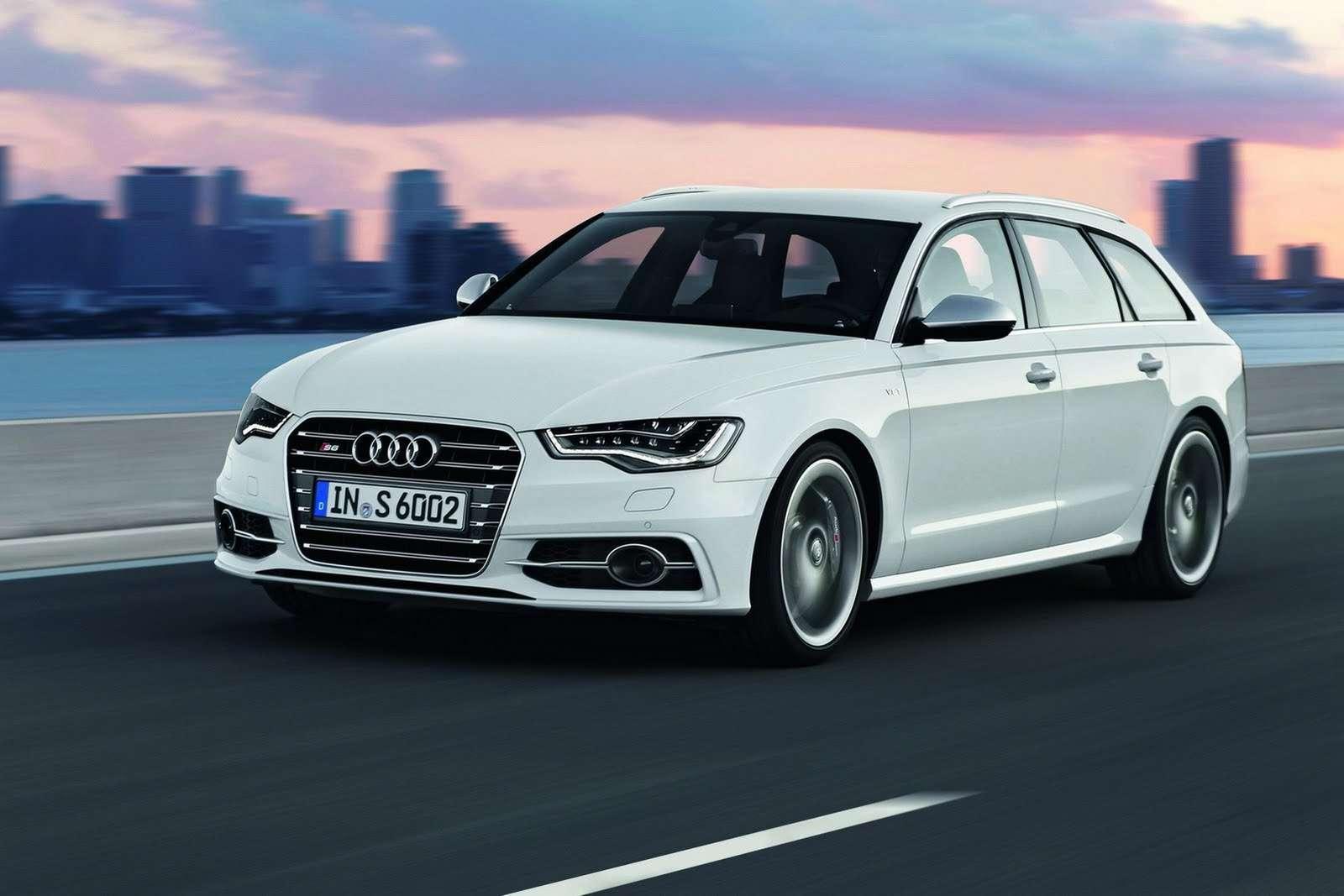 Nowe Audi S6 sedan oraz Avant fot sierpien 2011