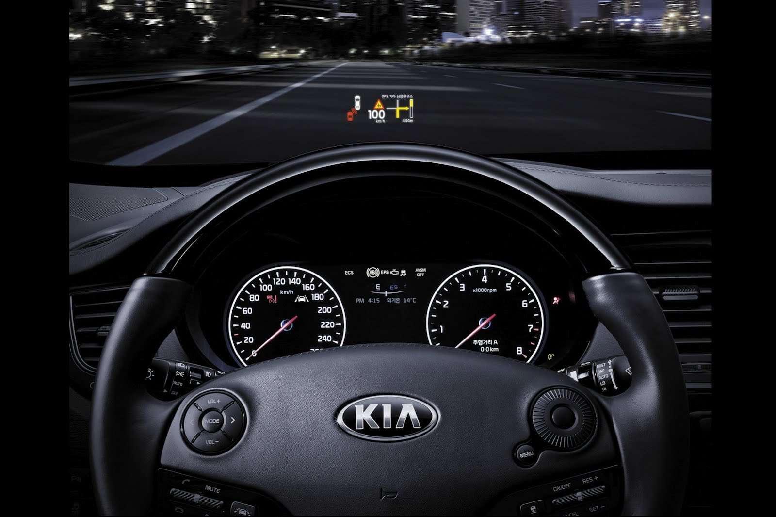 Kia K9 2012 zdjęcia wnętrza