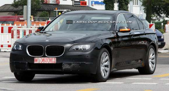 BMW 7 2013 facelifting