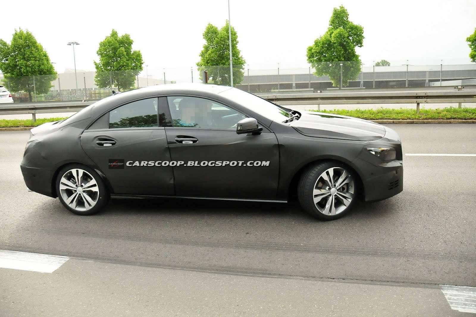 Mercedes-Benz CLA szpiegowskie