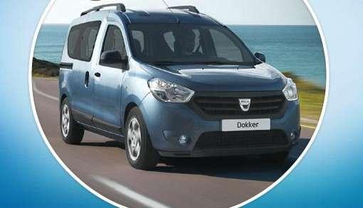 Dacia Dokker pierwsze zdjęcia