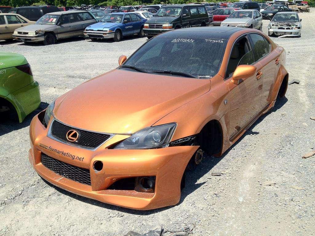 Lexus ISC i ISF Fox Marketin