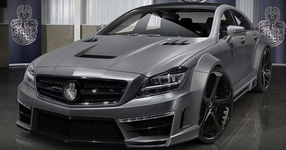 Mercedes CLS63 AMG Stealth GSC tuning