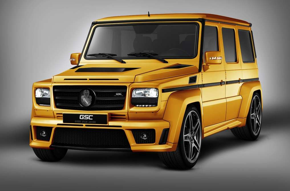Mercedes G German Special Customs złoty