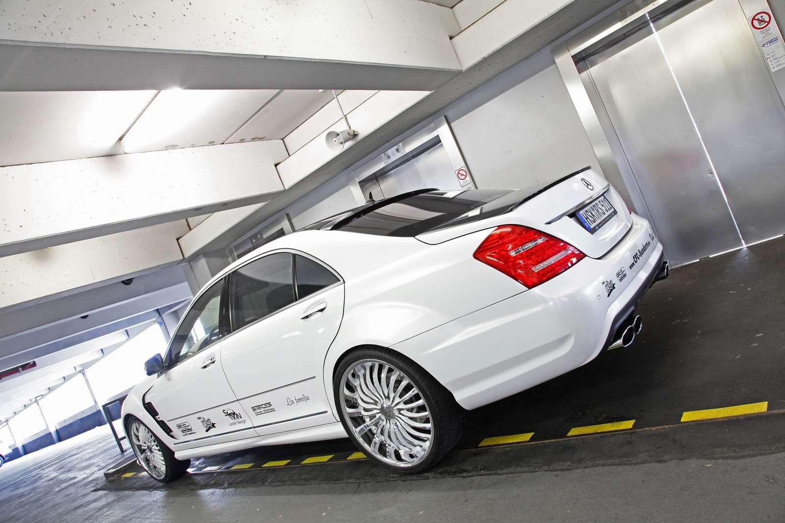 Mercedes-Benz S65 V12 AMG CFC-SUNDERN