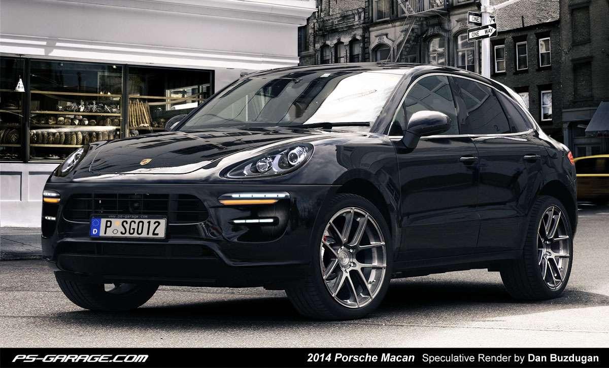 Porsche Macan 2014 rendering