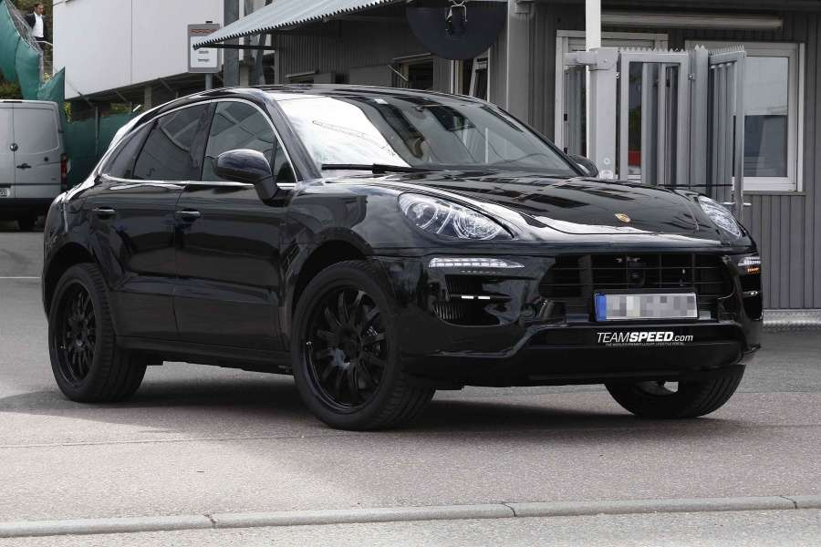 Porsche Macan 2014 Spy Photo
