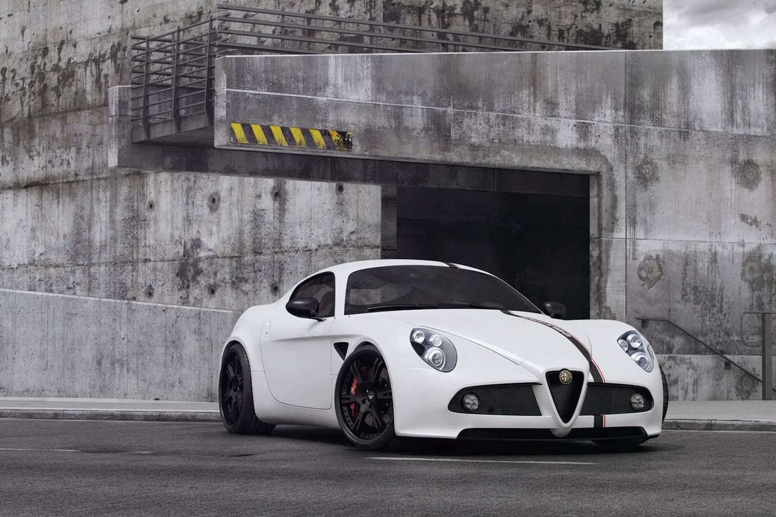 Alfa Romeo 8C Competizione Wheelsandmore tuning