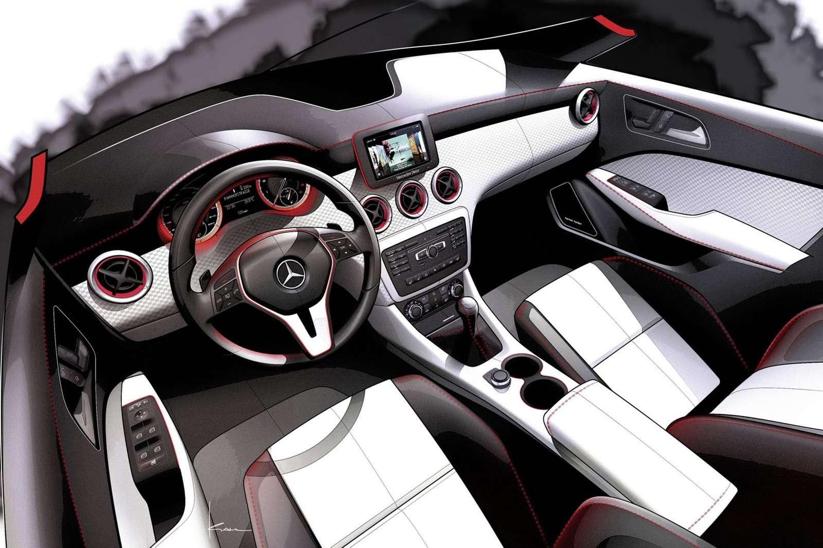 Mercedes klasy A 2012 zdjęcia