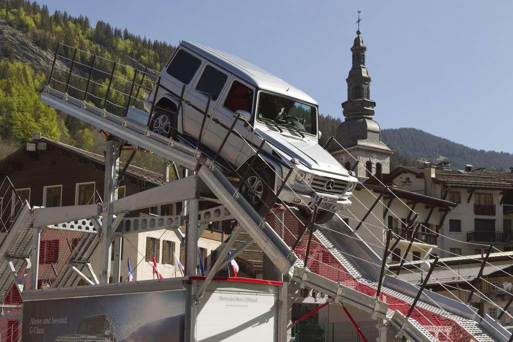 Taxifahrt mit MB Instruktor über Iron Schöckl in LaCluzas 2012